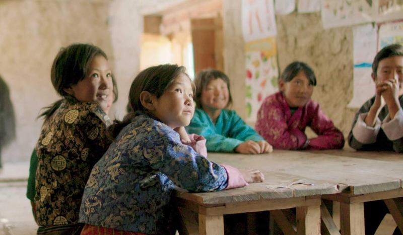 電影《不丹是教室》明年將代表不丹角逐奧斯卡最佳國際影片獎。(海鵬提供)