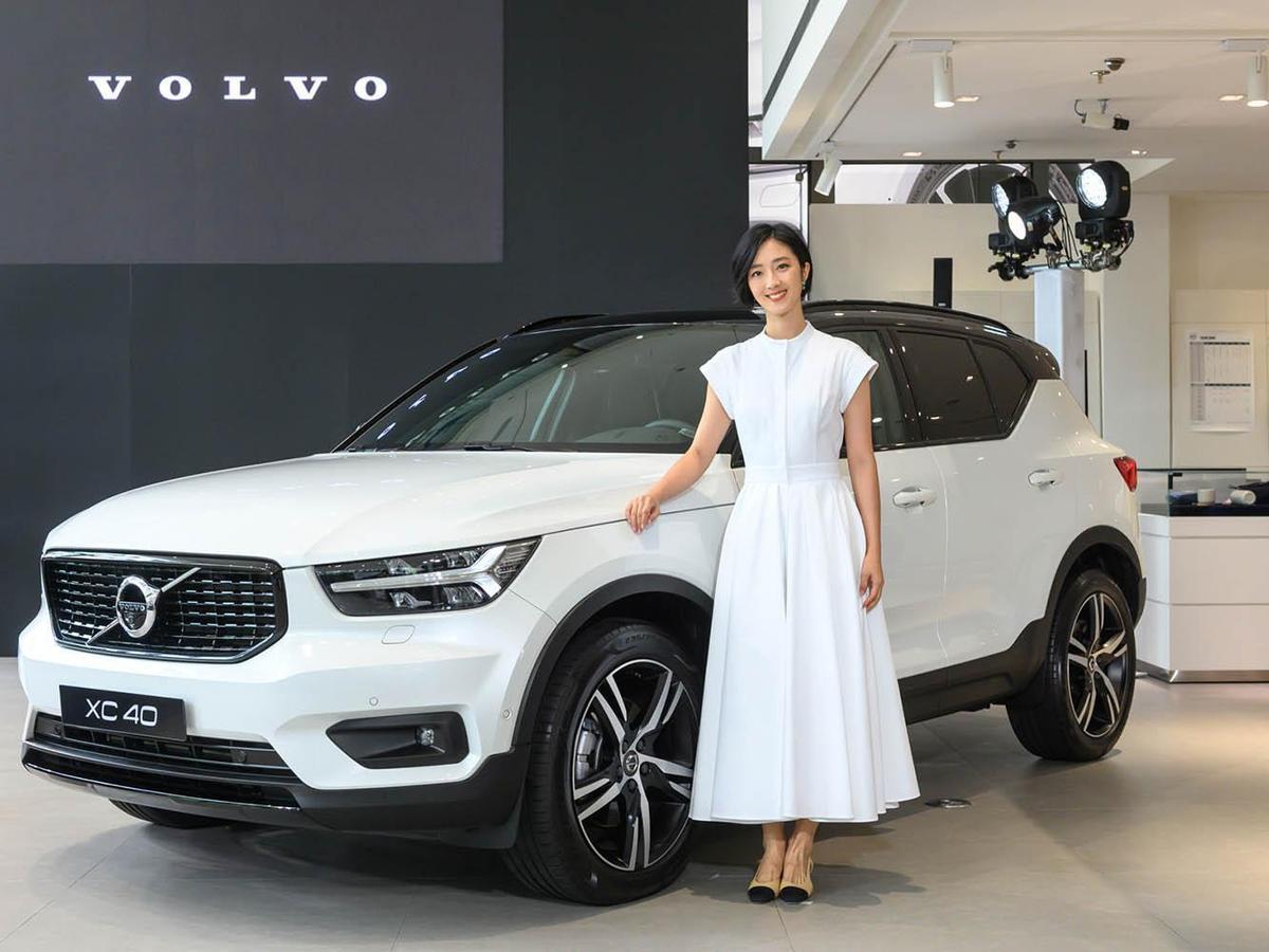 影后桂綸鎂本次代言VOLVO新車,為品牌拍攝的廣告片短時間內點閱次數也突破一百五十萬。