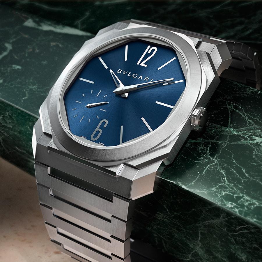 錶徑40mm、不鏽鋼材質、時間指示、BVL 138自動上鏈機芯、防水100米、建議售價約NT$ 378,200
