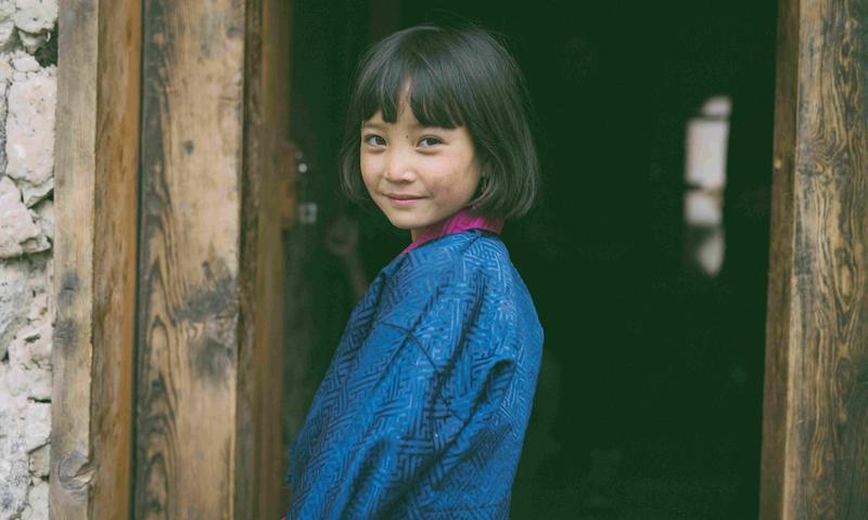 在《不丹是教室 》裡飾演班長就像演員Pam Zam的寫照,自信純真,但來自破碎的家庭。(海鵬提供)