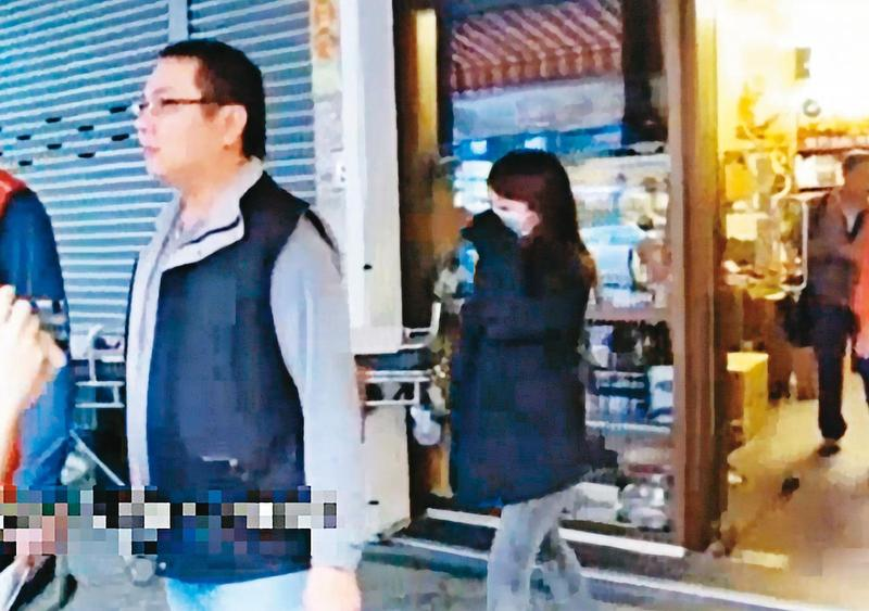 楊宜綾(右)供稱不滿丈夫家暴又偷吃,才會與男友共謀殺夫。(東森新聞提供)