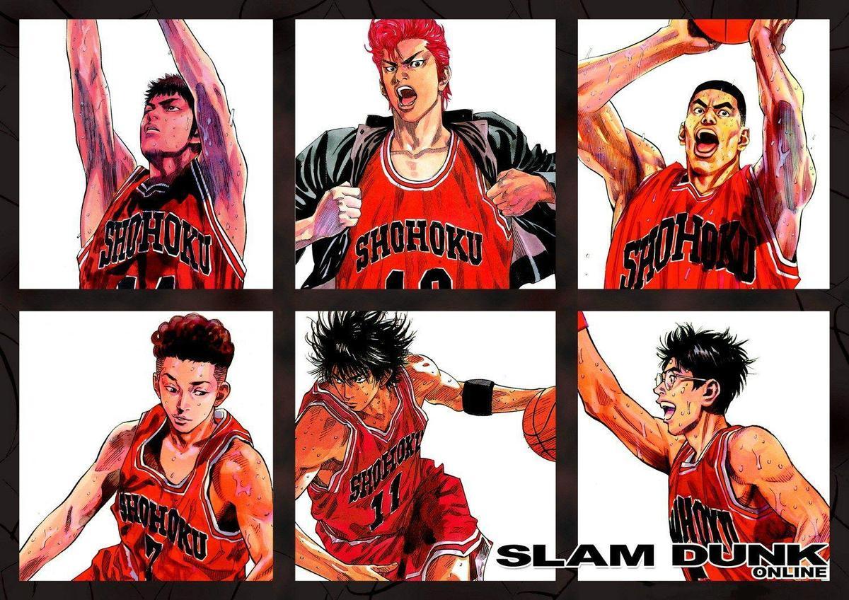《灌籃高手》是日本漫畫家井上雄彥以高中籃球為題材的漫畫作品,從1990年開始連載,幾乎是所有男人心中的熱血神作。(翻攝自Pinterest)