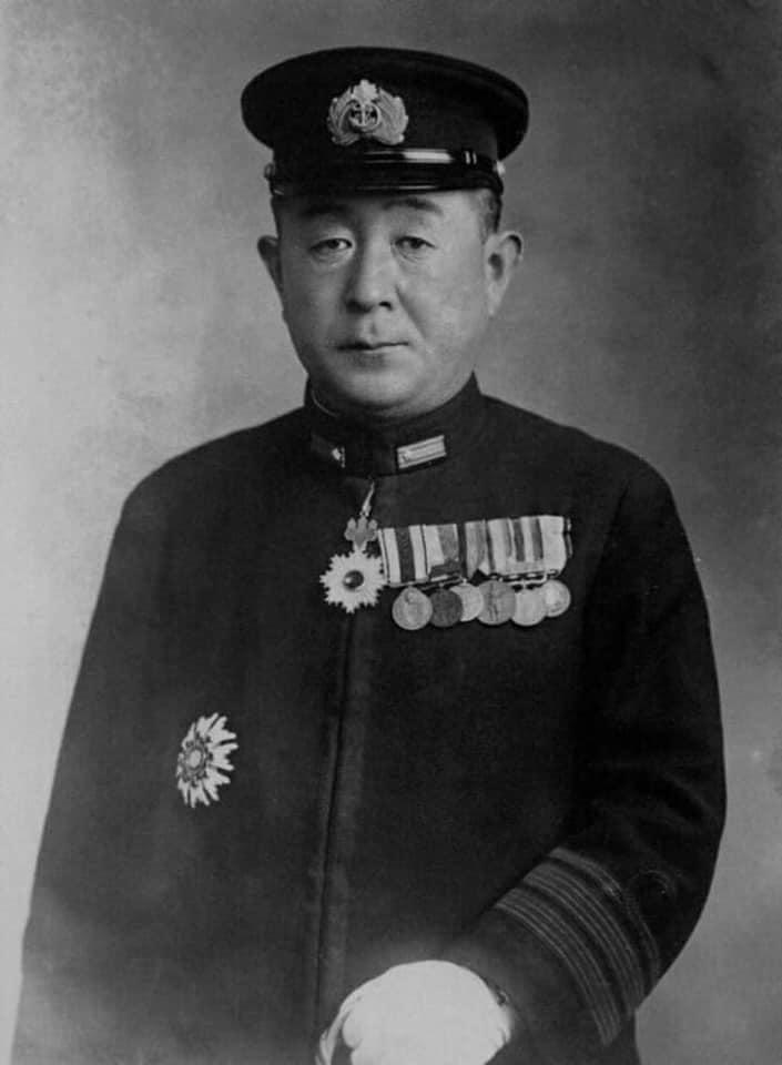 山口多聞在中途島海戰中戰死,追晉海軍中將。(翻攝自維基百科)