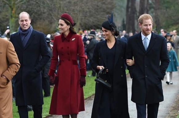 哈利夫婦明年有可能為了母親黛安娜王妃60歲冥誕的雕像落成儀式返英居住半年。(翻攝kensingtonroyal IG)
