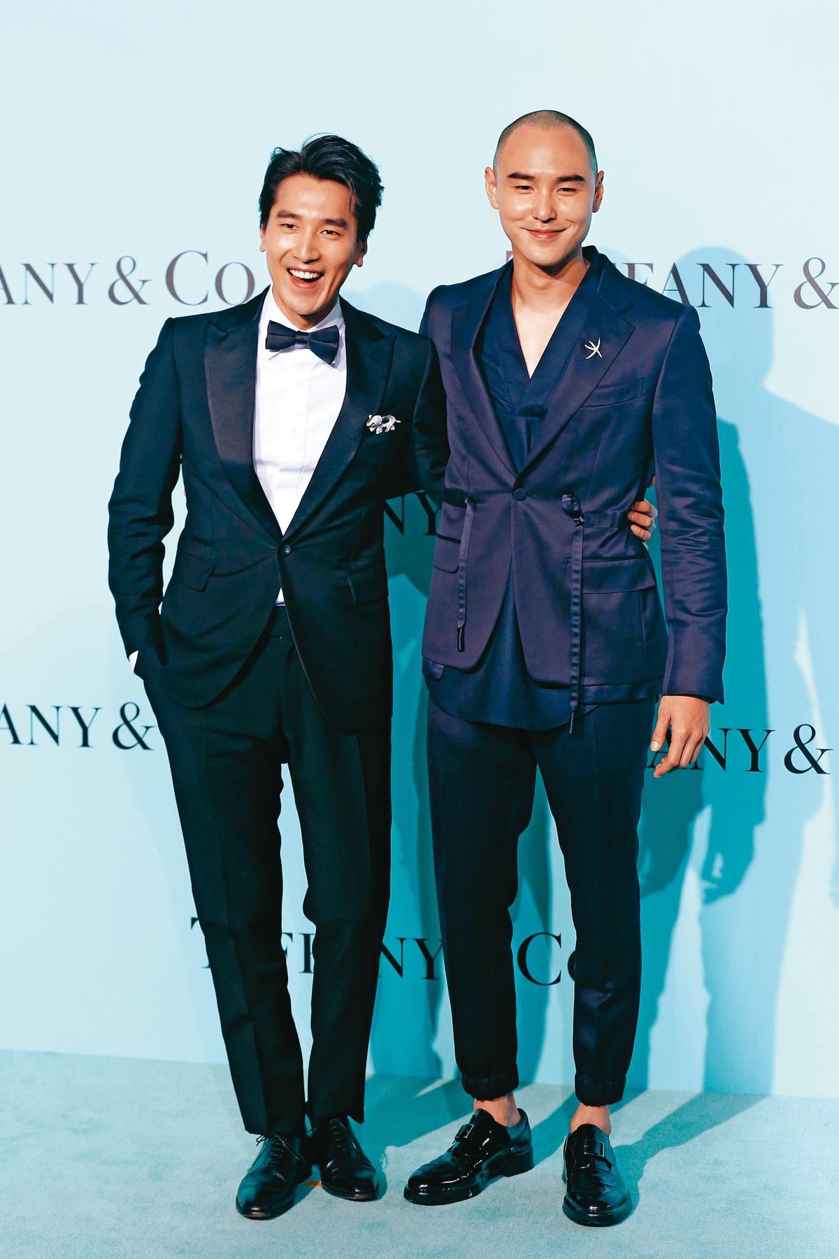 阮經天(右)與趙又廷(左)先後進入大陸市場,趙又廷現在仍有不少片約。(東方IC)