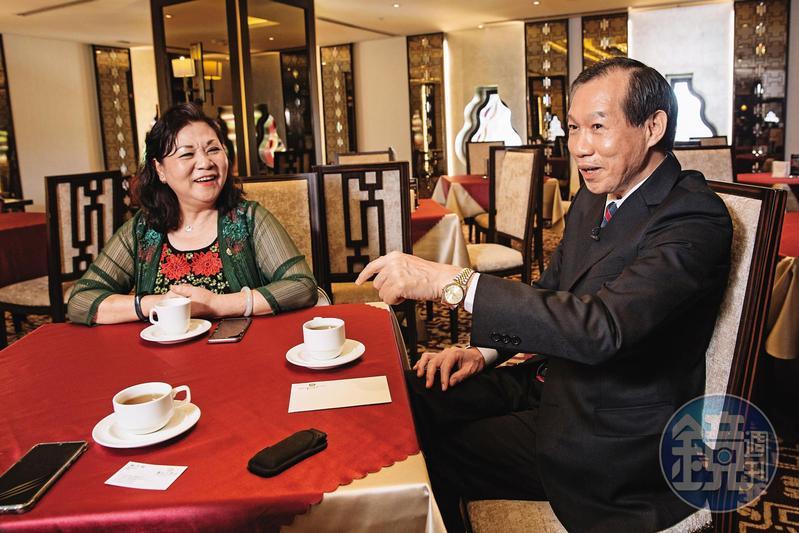 楊月琴與李繼昻是圓山飯店的老員工,兩人都曾近身服侍孔二小姐。