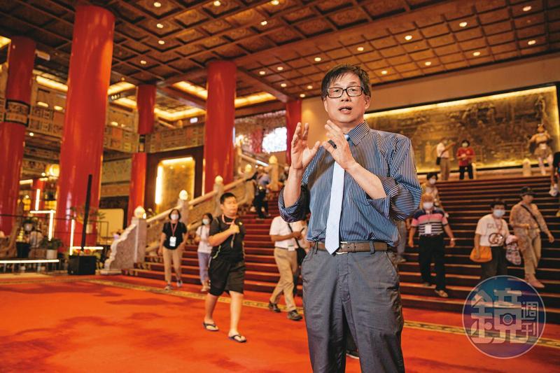 林育生接掌圓山飯店第一年,就交出25年來首度虧轉盈的亮眼成績。
