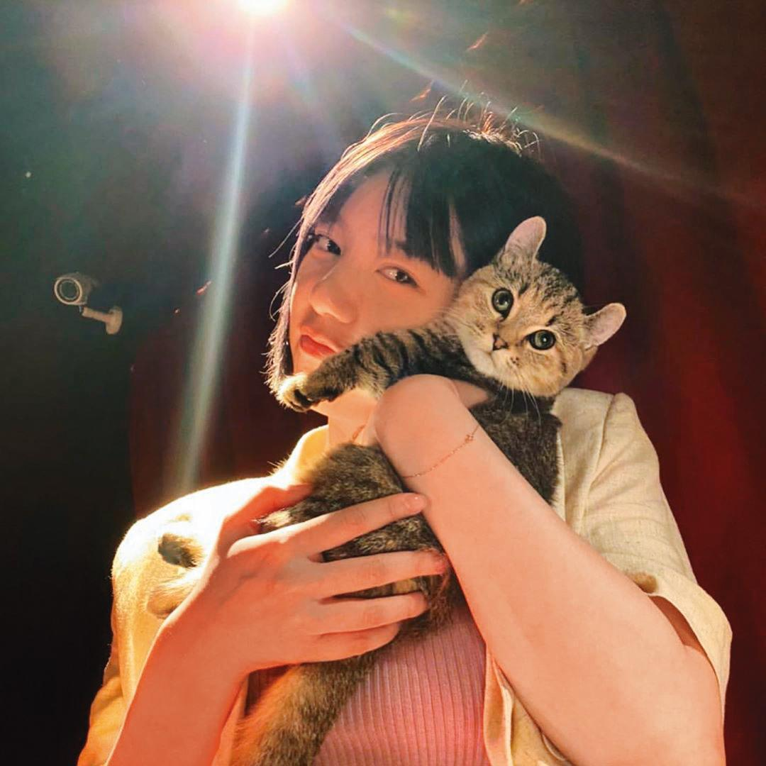 郭雪芙養的是貓,愛狗的孫其君與現任女友的寵物相處,應該也換了模式。(翻攝自郭雪芙IG)