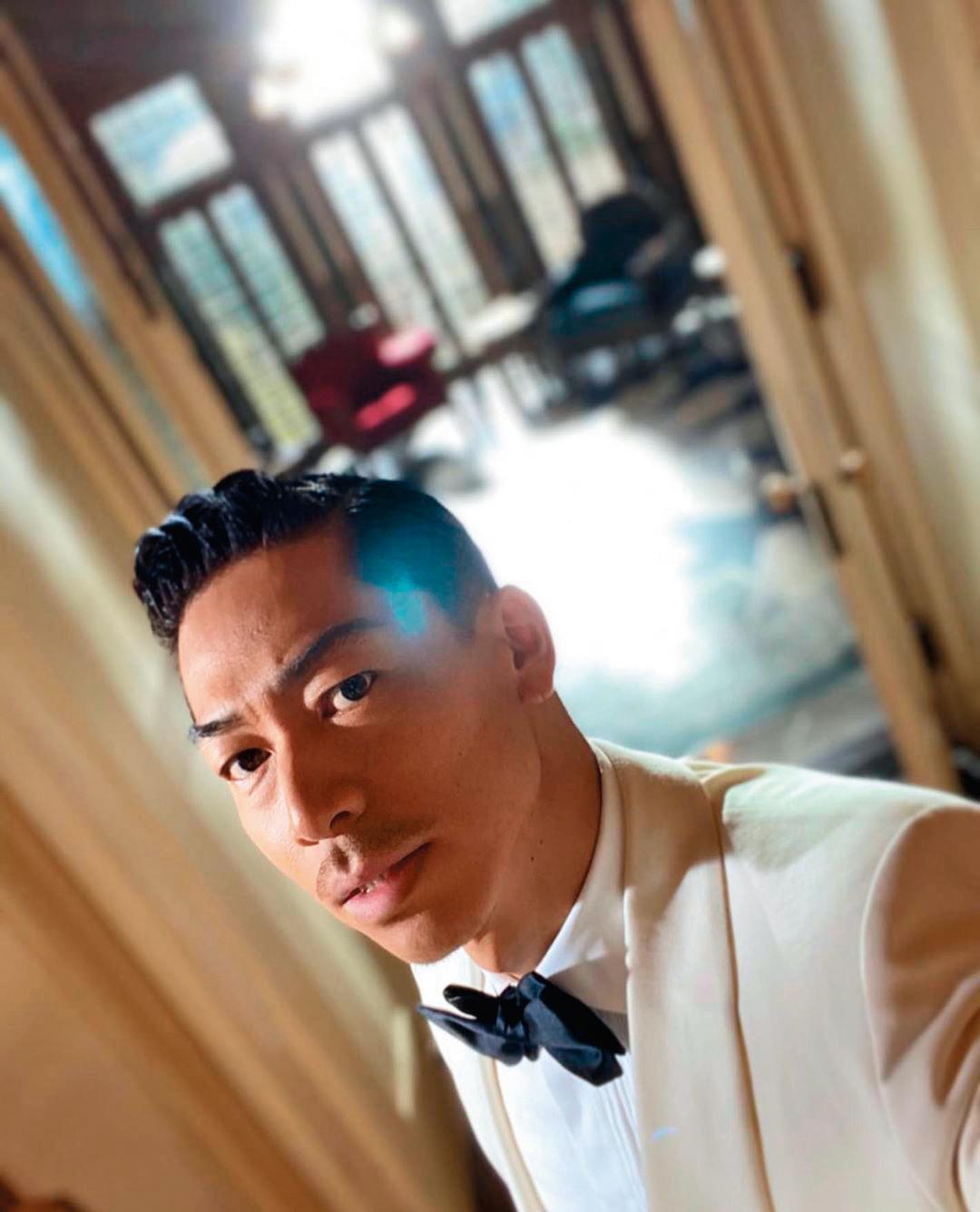 AKIRA與林志玲成婚之前,家人都已見過他。一家人都很喜歡AKIRA。(翻攝AKIRA IG)