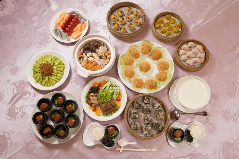 圓山飯店過去專門接待各國元首及政要,國宴餐頗負盛名。(圓山大飯店提供)