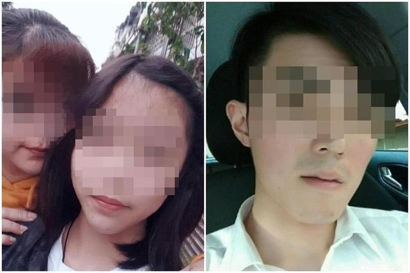 高雄14歲少女8月29日離家失聯長達66小時,遭有2項性侵前科羅男帶走。(組圖:讀者提供、翻攝自批踢踢)