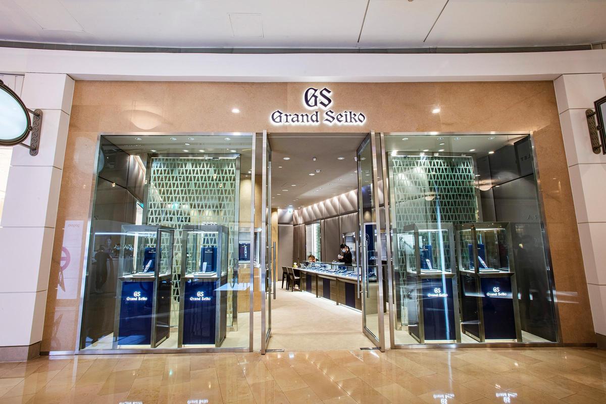 GRAND SEIKO台北101旗艦店是目前全球第十間專賣店。