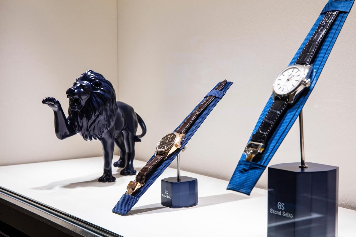 店內還運用了GS最具代表性獅子來作為裝飾品。