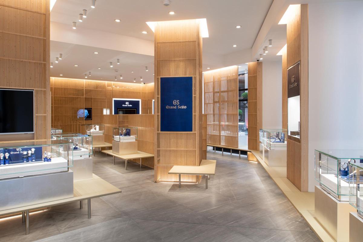 同樣由隈研吾操刀設計的巴黎凡登廣場旗艦店,是GS目前全球最大的專賣店。