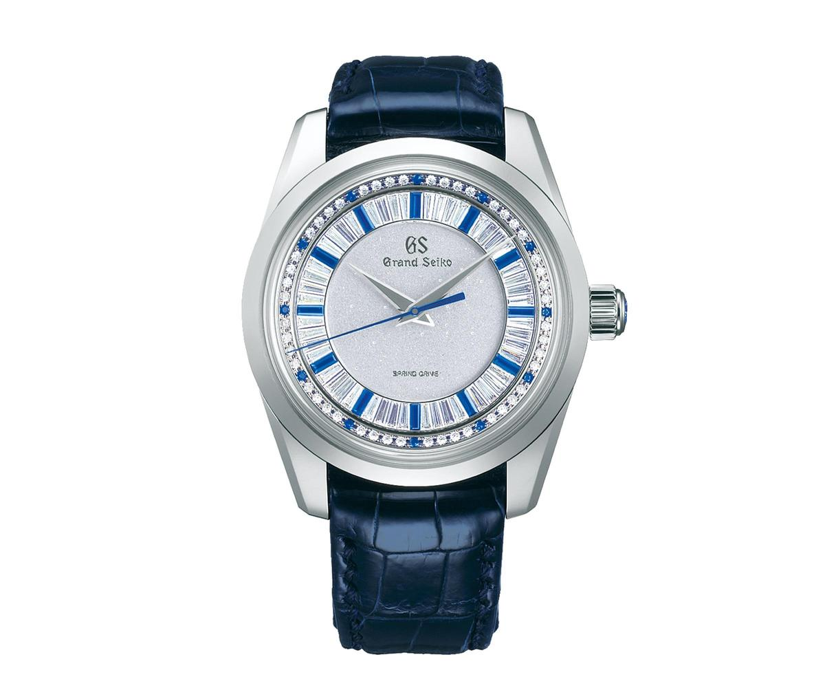 GRAND SEIKO SBGD205頂級珠寶錶,全球限量10只,定價NT$5,850,000。