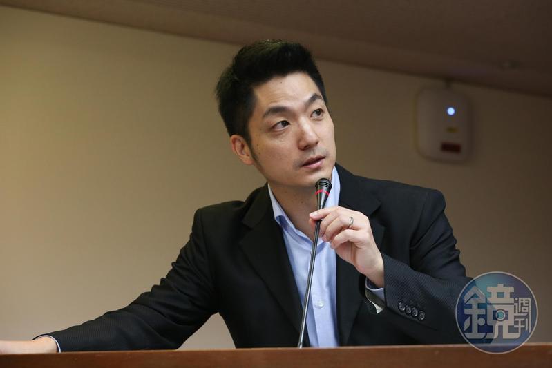 蔣萬安表示他會即刻提出「學校衛生法」第23條修正案,確保不讓含瘦肉精的美豬進入校園。(本刊資料照)