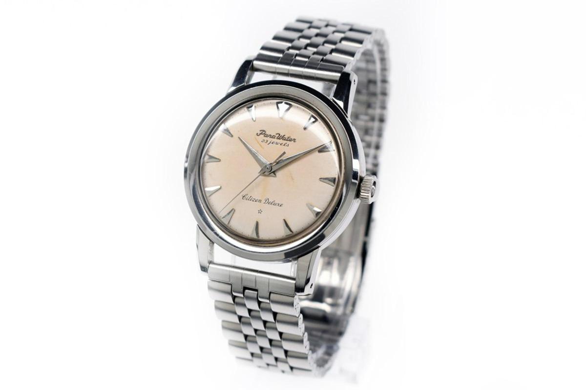 1959年CITIZEN推出的Parawater腕錶,是日本防水腕錶的里程碑。