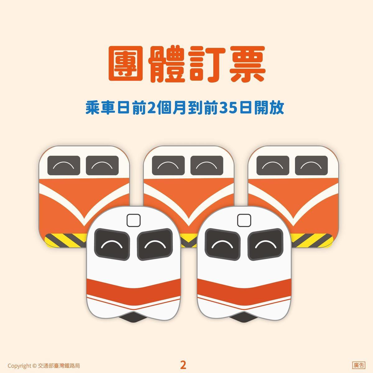 便利旅客及早規劃行程,台鐵提早於28天前開放預售車票。(翻攝自台鐵官網)