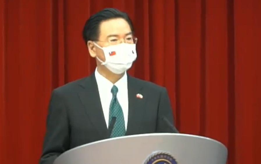 吳釗燮表示,台灣總統及國會都是民選,種種皆證明為一個實質的國家。(翻攝自外交部臉書)