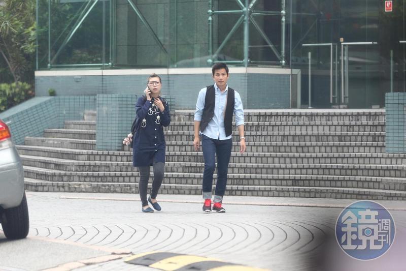 孫協志今年4月控告陳姓前女助理(左)侵占他的演唱會酬勞,今日在開庭前和解。