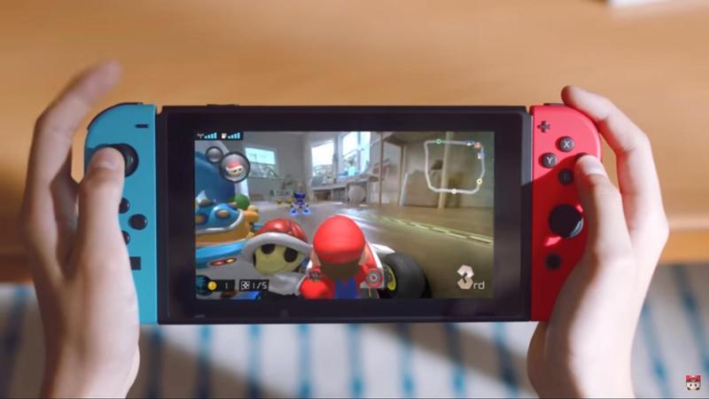 任天堂將推出結合AR擴充實境的新作品《瑪利歐賽車 LIVE 家庭賽車場》。(翻攝自Nintendo官方YouTube)