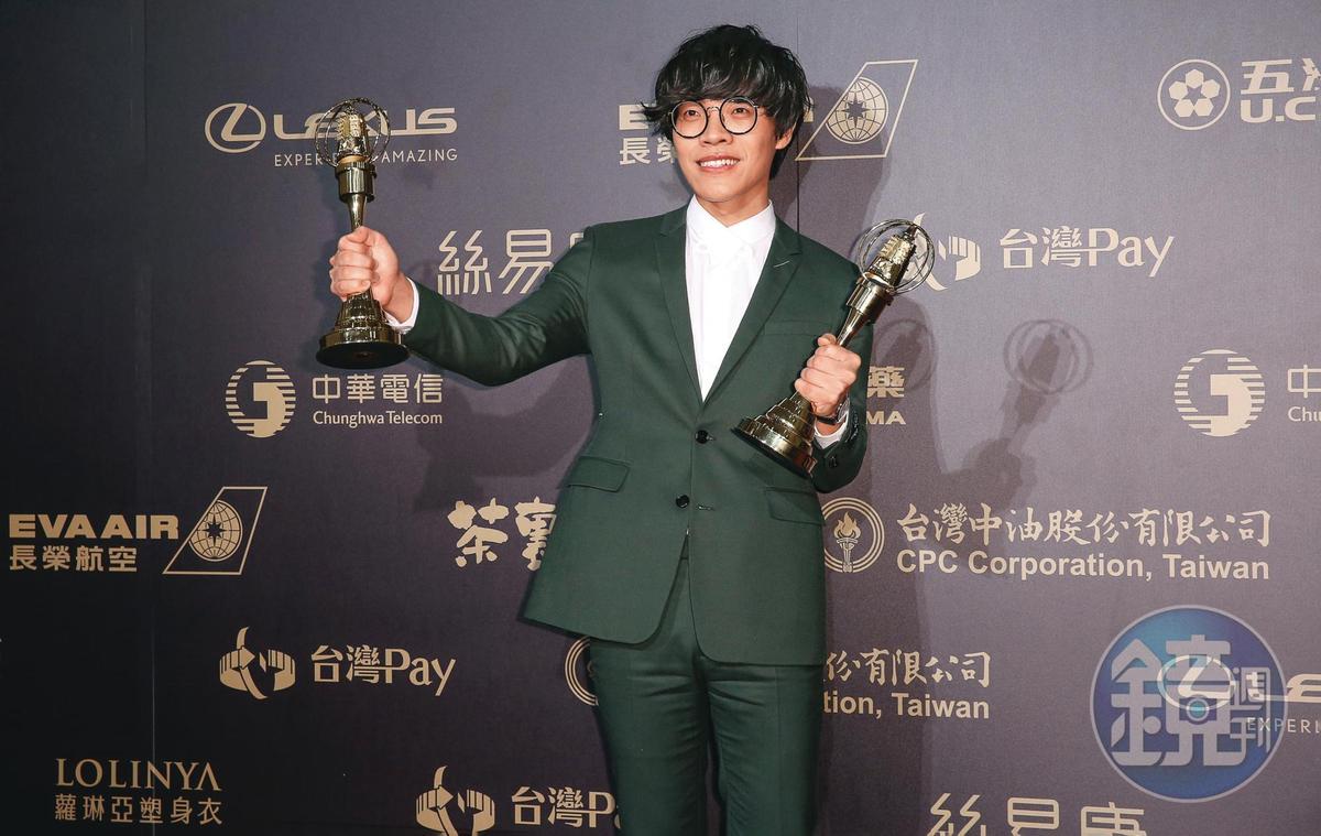 2018年,盧廣仲以《花甲男孩轉大人》拿下金鐘獎戲劇節目新進演員獎和戲劇節目男主角獎。