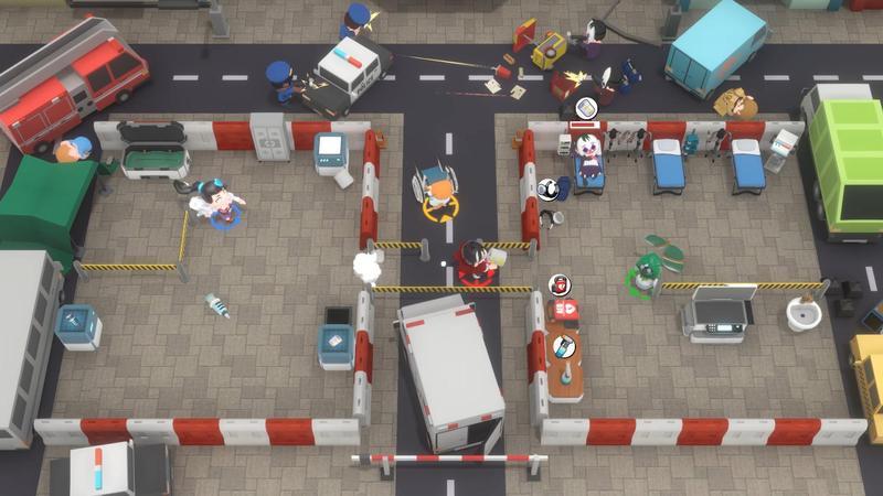 玩家在《大救特救》中扮演業餘醫生,要拯救世界各地的病人。(翻攝Steam)