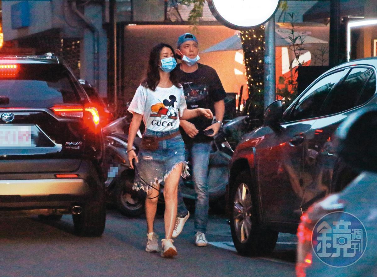 8/30 18:15 林心如與霍建華搬進億元級豪宅新厝,最近因為疫情關係,夫妻也多了時間相偕用餐。