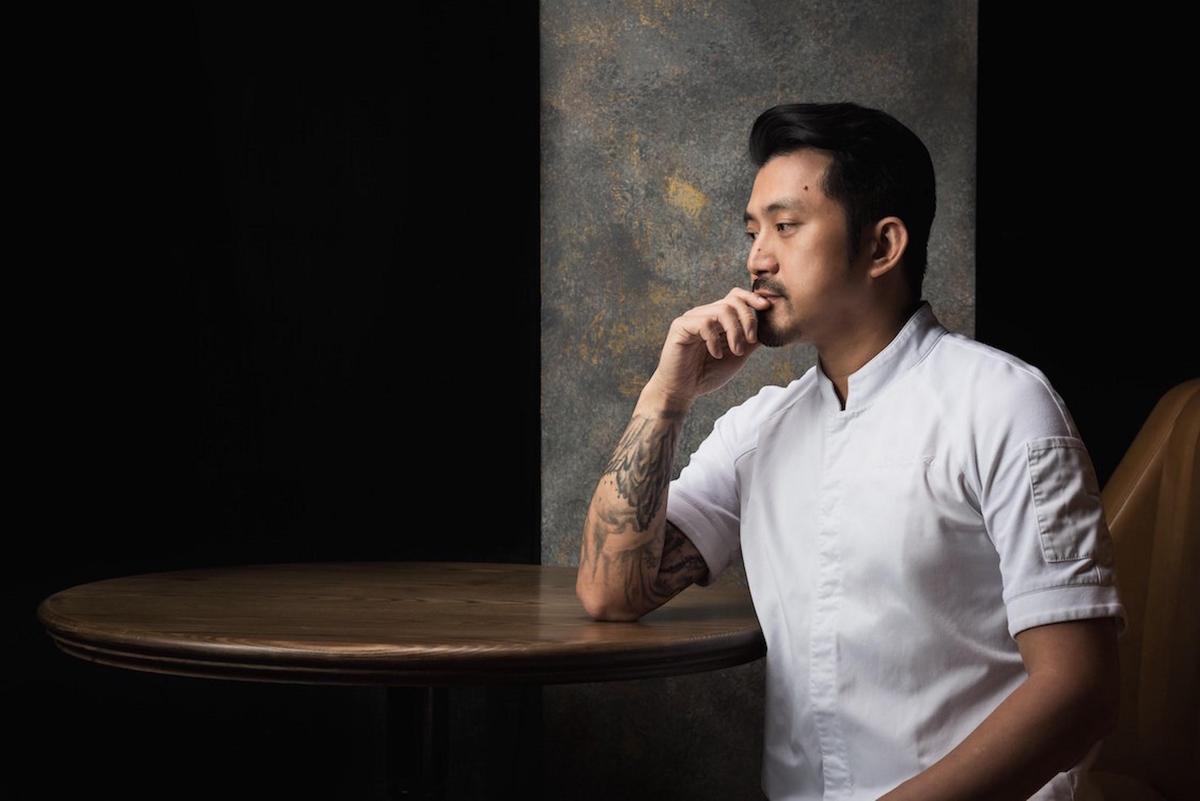 LONGTAIL主廚林明健以南洋風混搭法式哲學。(WAT提供)