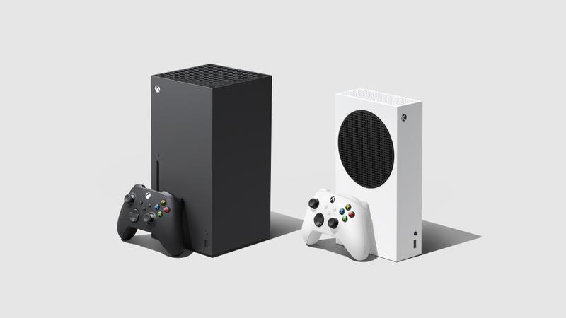 微軟Xbox Series X(左)和平價主機Xbox Series S,將於11月10日上市,9月22日起展開預購。(翻攝自微軟官網)