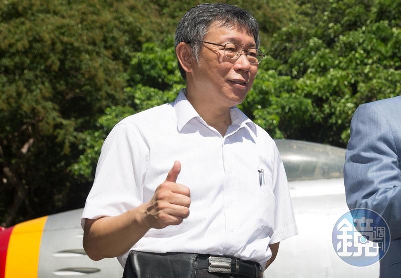 台北市長柯文哲對於「4%黨」的外號直言都是事實,無法反駁。(本刊資料照)