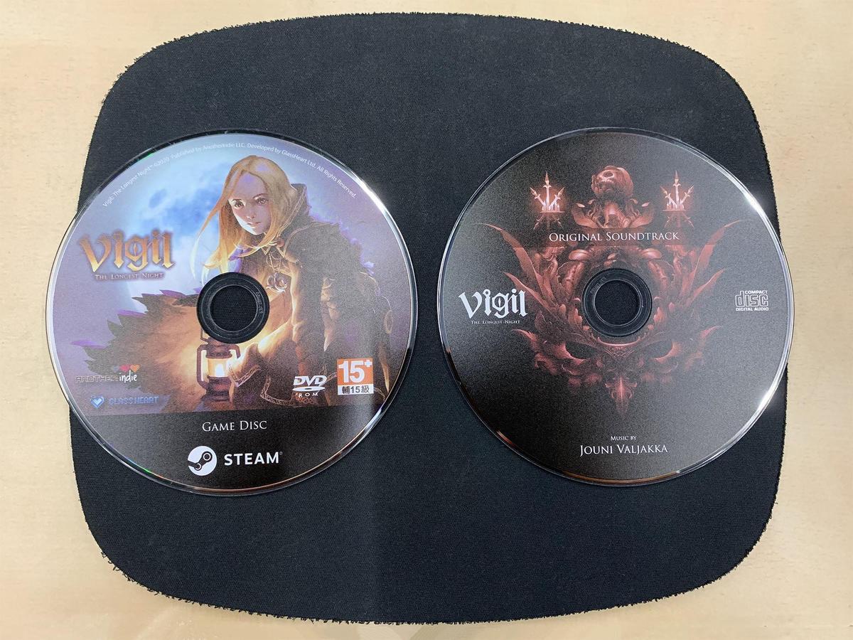 《守夜人:長夜》典藏版光碟打樣,實體光碟僅有群募時購買完全典藏版的贊助者能獲得。(翻攝守夜人:長夜FB)