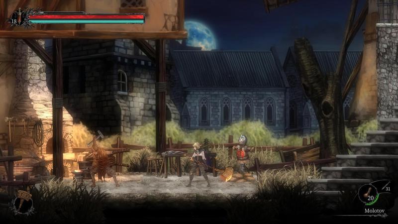 由台灣團隊「玻璃心工作室」開發的《守夜人:長夜》,預計10月15日在Steam及任天堂Switch推出。(翻攝自Steam)