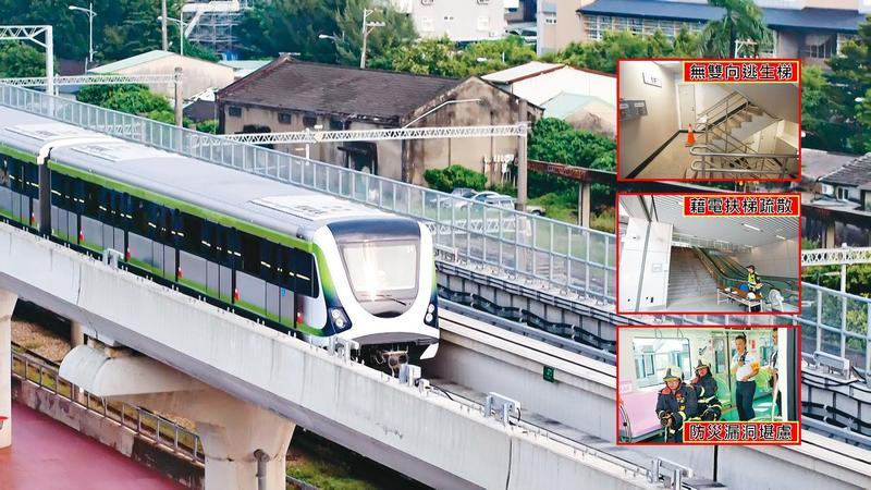 台中捷運綠線已通過初勘,即將履勘,可望在耶誕節前通車。(台中捷運局提供)