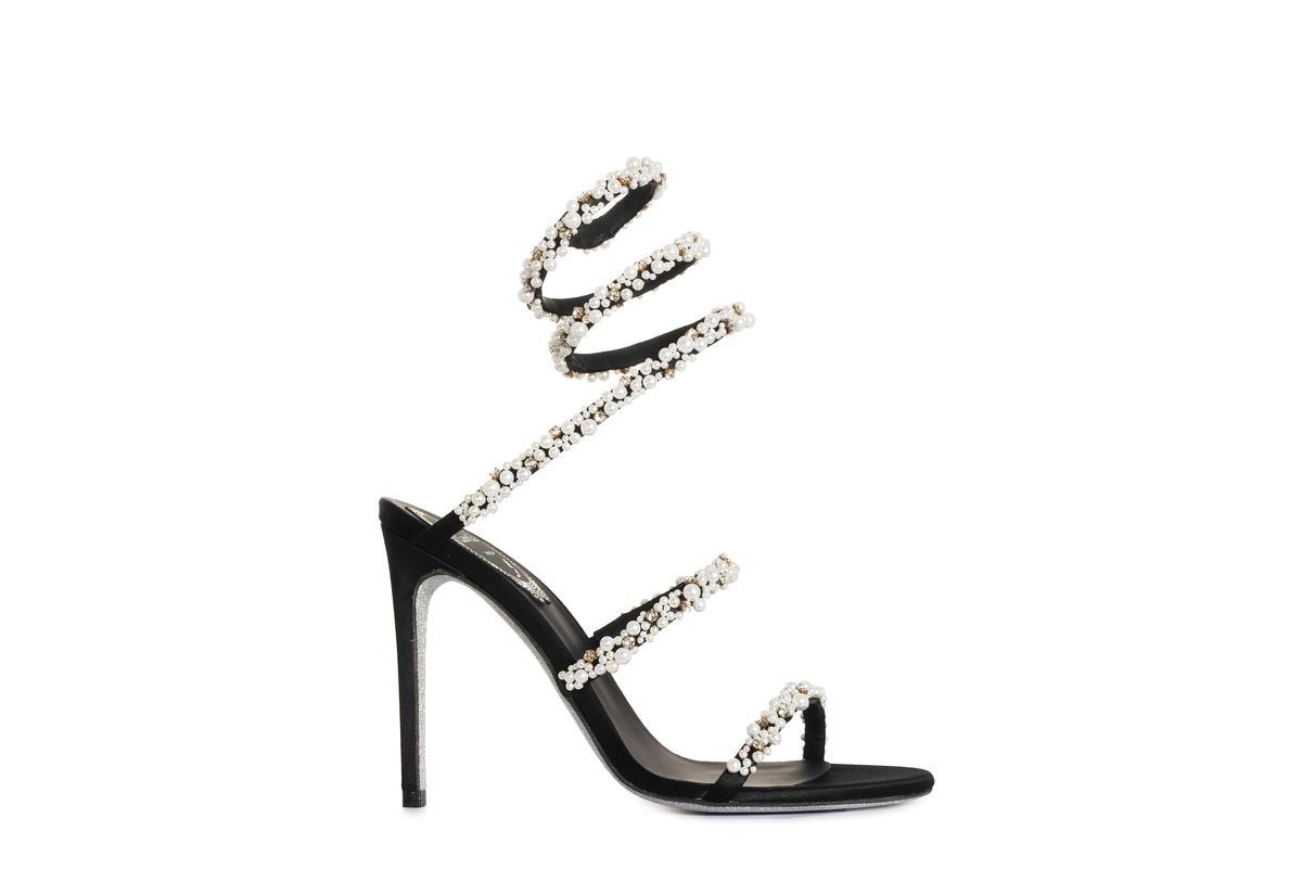 Isabel鞋履。NT$53,000。(René Caovilla提供)