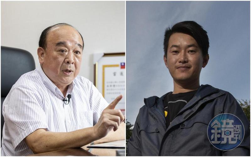 立委吳斯懷(左)認為要對中華民國民主自由有信心,「我從不怕被他們統戰,通常都是我去統戰他們。」卻遭立委陳柏惟(右)反酸「明顯失敗」。(本刊資料照)