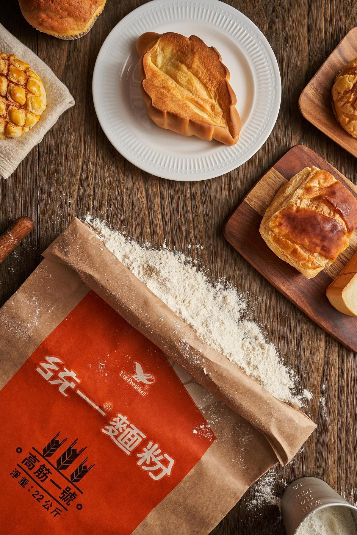 統一麵粉全面改用認證原紙紙袋包裝,為台灣烘焙業注入向上升級的動能。