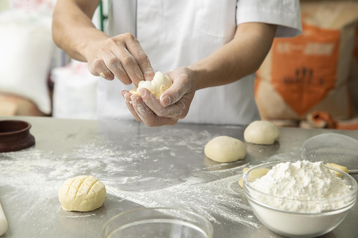 一之軒打造純素烘焙產線,製作空間和器具與一般麵包完全獨立分開。