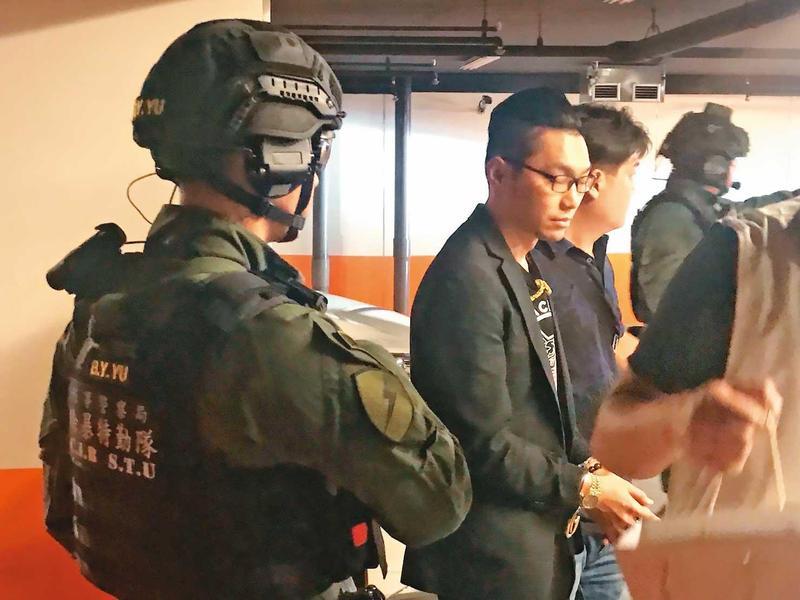 直播主之亂爆發後,檢警迅速逮捕、收押連千毅。(翻攝畫面)