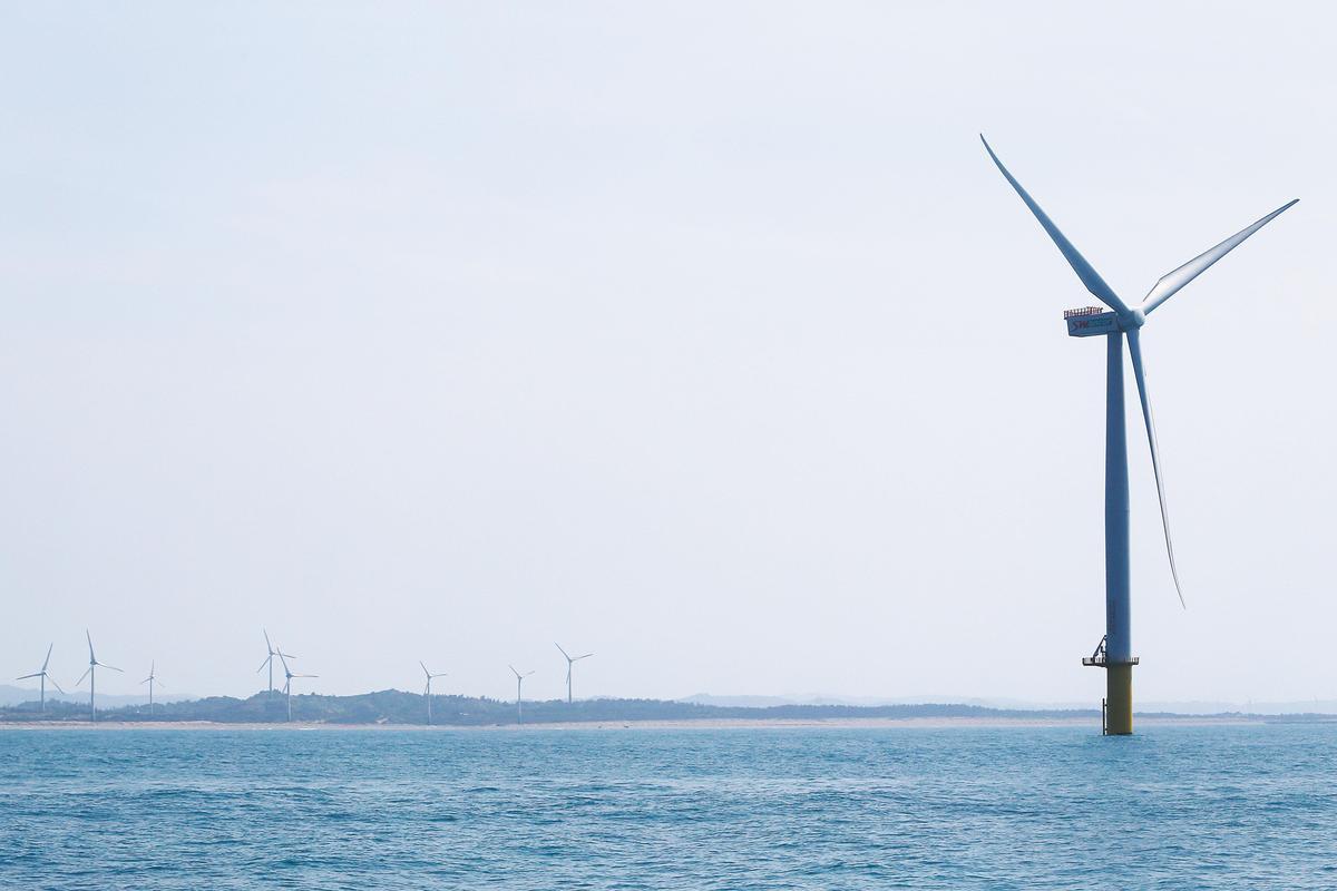 打造台灣成為亞洲綠能研發中心,離岸風電產業是關鍵。(東方IC)