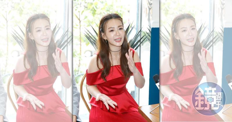 李又汝表示入圍「迷你劇集女主角」,夢到已去世的媽媽對她笑。