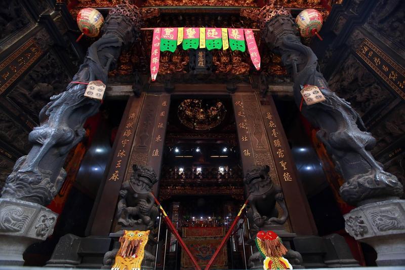 台南府城普濟殿為台灣最早的王爺廟。(翻攝自「府城普濟殿」臉書粉絲團)