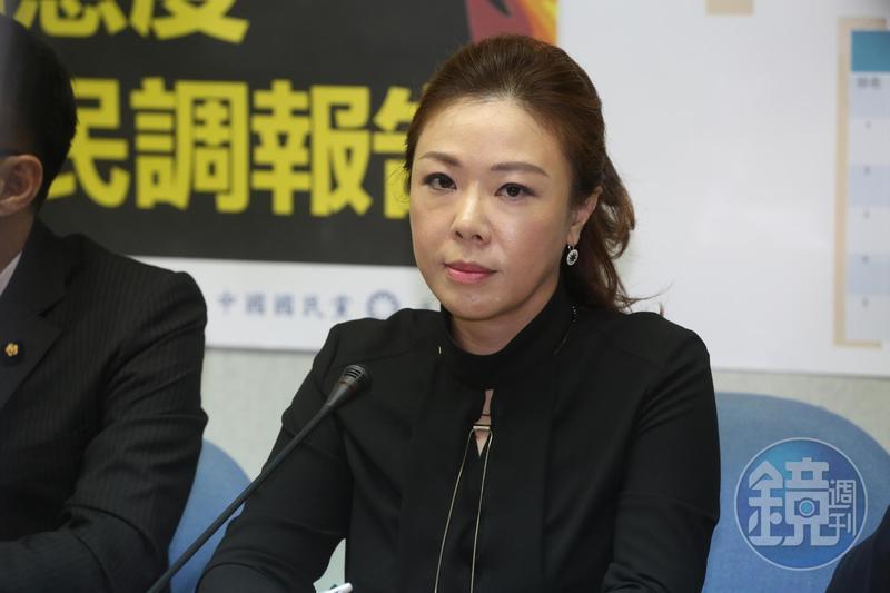 國民黨副祕書長李彥秀表示,丁允恭的作為,完全是公領域的問題,認為民進黨刻意將丁允恭與女記者的關係私領域化。(本刊資料照)