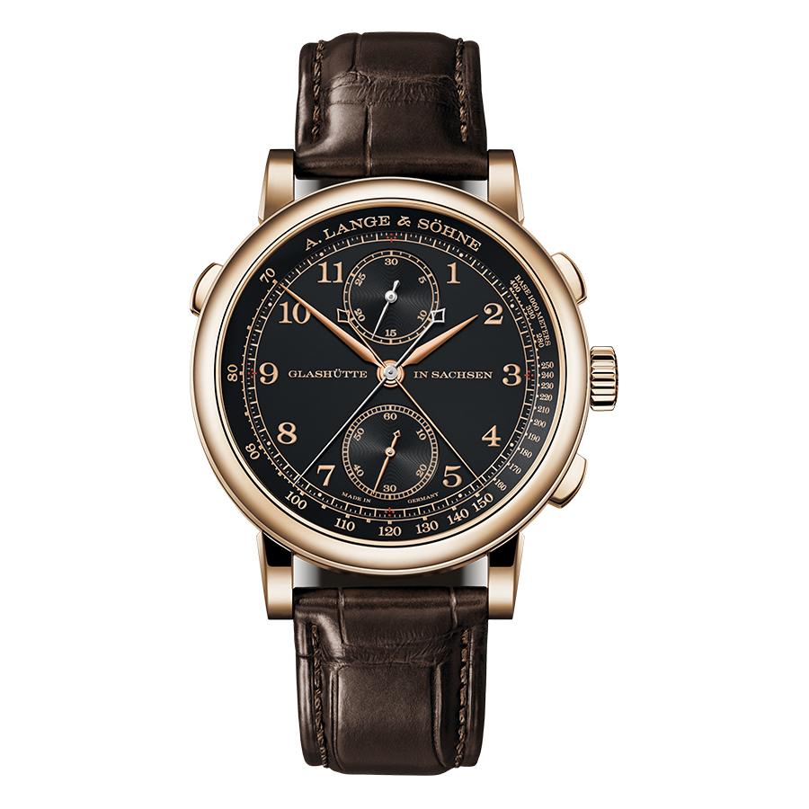 1815 Rattrapante HoneyGold|錶徑41.2mm/18K蜂蜜金材質/時間指示、雙追針計時碼錶功能/L101.2手上鏈機芯/專賣店限定款,限量100只