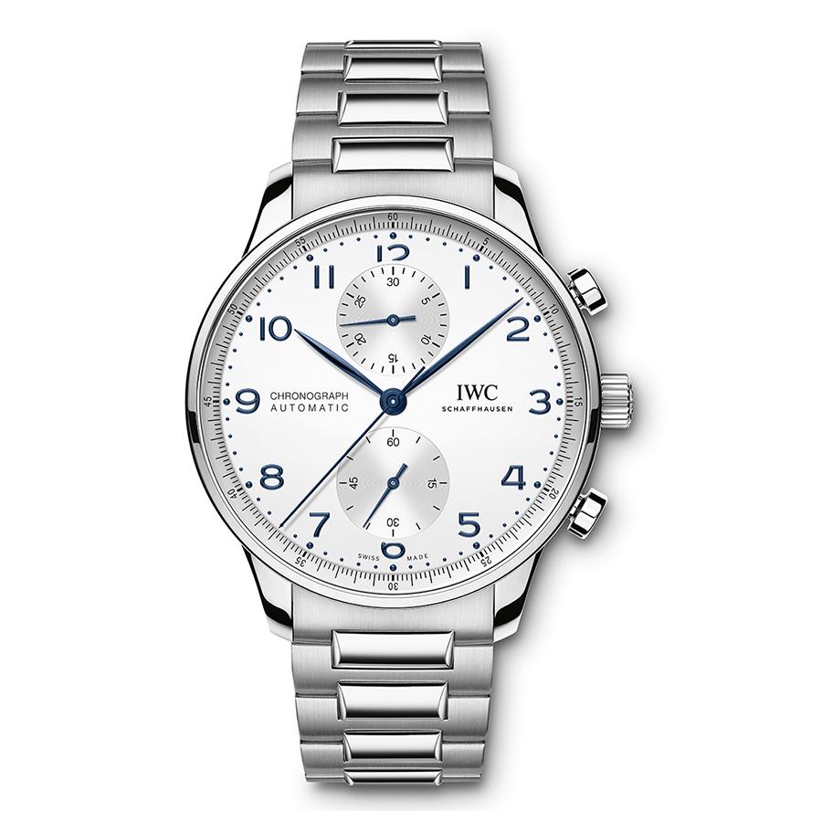Portugieser Chronograph|錶徑41mm/不鏽鋼材質/時間指示、計時碼錶功能/69355 自動上鏈機芯/防水約30米/建議售價NT$ 285,000