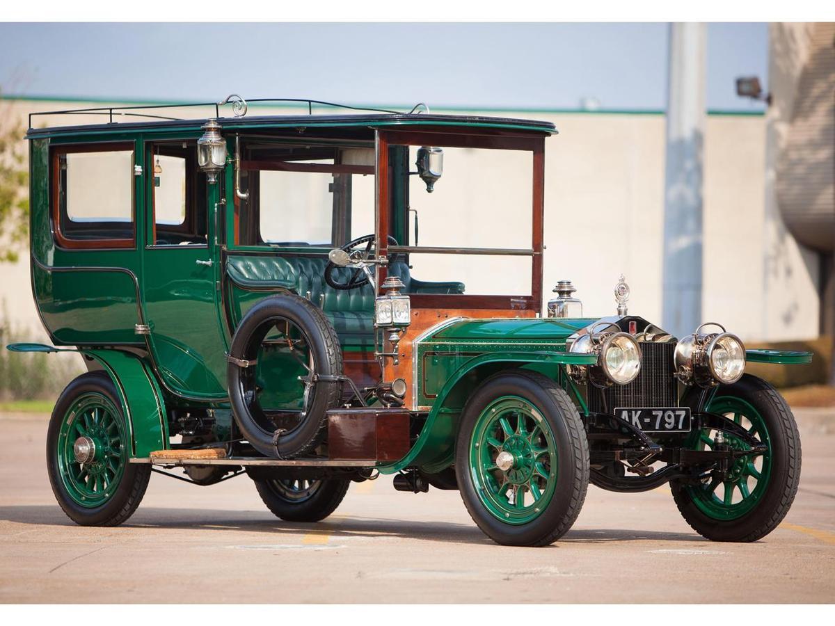 Silver Ghost為Rolls-Royce帶來了極大的讚譽,共生產了6,173輛。