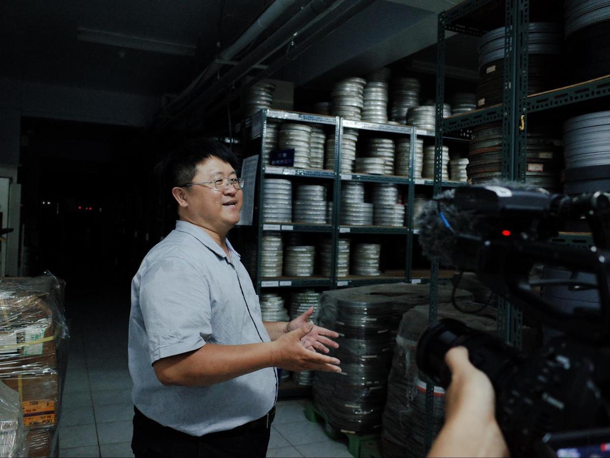 紀錄片《數電影的人》花了近2年才完成拍攝。(國家影視聽中心提供)