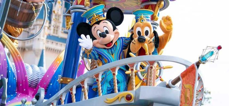受武漢肺炎疫情影響,日本東京迪士尼樂園與迪士尼海洋於今年2月29日休園,7月1日重新開園。(翻攝自日本東京迪士尼官網)