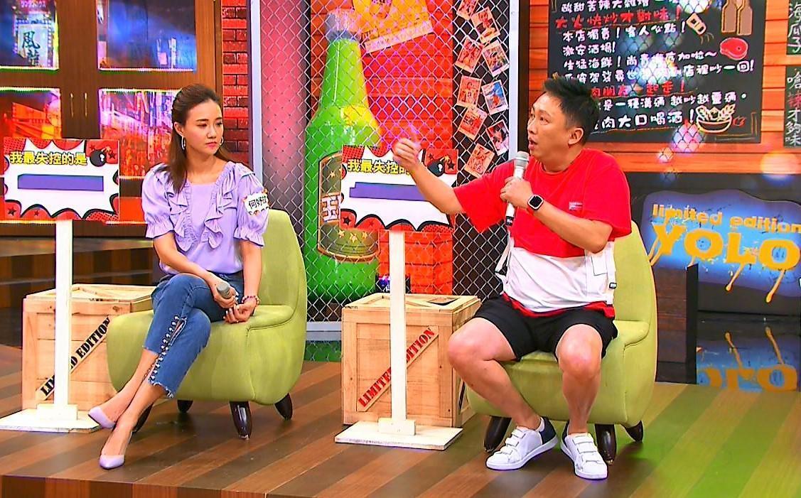 何妤玟跟趙正平上《11點熱吵店》分享「最失控的事」。(TVBS提供)
