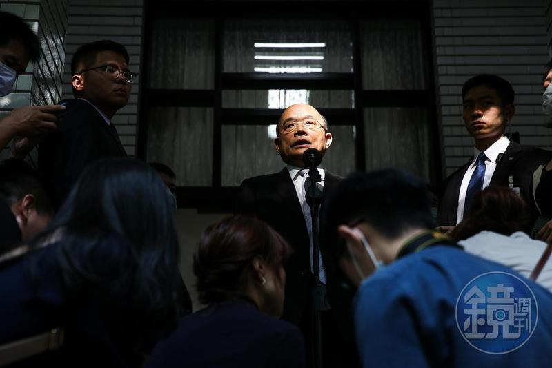 針對在野黨質疑柯拉克訪台卻不列經濟對話行程,蘇貞昌表示會交換雙邊互惠意見。
